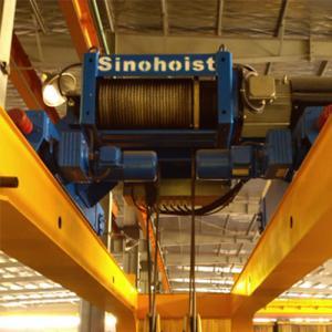 China Standard Remote Control Double Girder Crane 50 Ton , Overhead Crane Systems wholesale