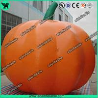 China Advertising Inflatable Vegetable Model 3m Oxford Inflatable Pumpkin Replica wholesale