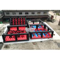 China Fashionable Themed Inflatable Interactive Games / Inflatable Obstacle Course wholesale