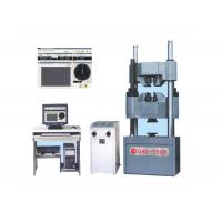 China 2000kn PC Tensile Compression Tester , Bending Strength Testing Machine Manual Control on sale