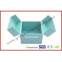 Quality Special Emerald Pop Up Custom Gift Boxes Silver Logo Foiled Promotion Gift for sale