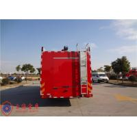 Max Speed 85KM/H Fire Fighting Truck With Pressure 1.0MPa Fire Pump