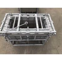 China aluminum block cooler box mold, rotational molding cooler box mould wholesale