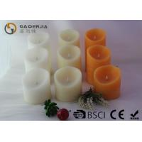 China Various Color Flameless Led Candles With Paraffin Wax Material wholesale