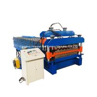 China 20m/min fast speed roof tile double layer roll forming machine 1200mm wholesale
