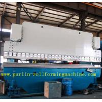 China Automatic PLC Control Hydraulic Bending Machine For Roofing Sheet , ISO / CE Approved wholesale