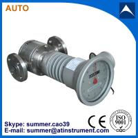 China Oval Gear Positive Displacement type Crude Oil Flow meter mechanical type with low cost wholesale