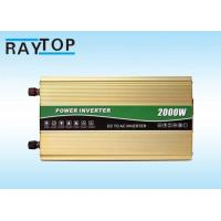 China 2000W Vehicle Power Inverter Peak Power 4000W Inverter With 6 High Protects wholesale