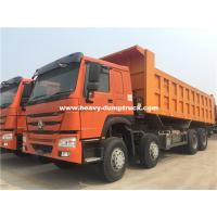 Buy cheap RHD Howo Dump Truck with 25m3 Cargo Body for Earthmoving Work from Sinotruk from wholesalers