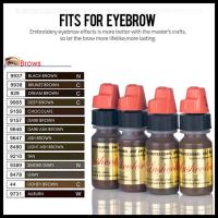 China Lushcolor Semi Permanent Makeup Pigments For Eyebrow Lip Eyeliner Tattoo wholesale