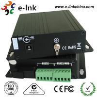 China Industrial Serial To Fiber Optic Media Converter Multimode 110 x 104 x 28 mm wholesale