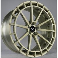 China Light Brush Yellow 21 Inch 2-PC Forged Rims For Ferrari  458 Speciale Car Rims wholesale
