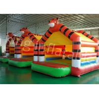 China 0.45mm PVC Tarpaulin Kids Inflatable Jumping Castle For Outdoor Entertainment wholesale