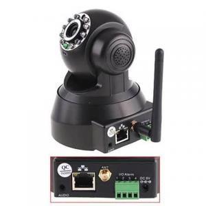 China Pan / Tilt / Zoom 1 Megapixel IP Camera Dome Night Vision IR 15 Meters wholesale