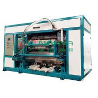 China Paper Egg Tray Manufacturing Machine with Heating Oven High Speed 4000PCS / H on sale