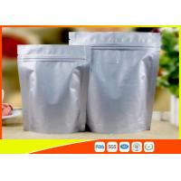 China Heat Seal Coffee Packaging Bags Food Grade Side Aluminum Foil Coffee Bags With Valve wholesale