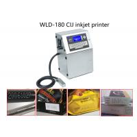 China Quick Dry Ink Continuous Inkjet Printer Date Coding Machine For Medcine Box / Capsule wholesale