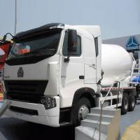 China Sinotruck Concrete Mixing Equipment / Cement Mixer Truck 10CBM 371HP 6X4 LHD wholesale