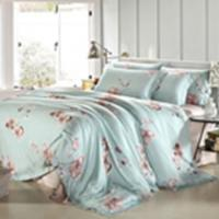 China Customized Pieces Home Bedroom Bedding Sets , Flower Printed Bedding Sets wholesale