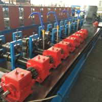 Gear Box Steel Ceiling Roll Forming Machine for purlin Cassette Type