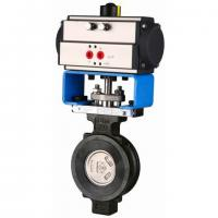 China Professional Pneumatic Butterfly Valve , Metal Seated Butterfly Valves 300# 600# on sale