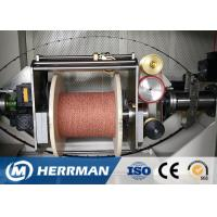 China 0 ~ 50% Angle Wire Cable Machine Dual Bobbin With Back Twist Double Twist Machine wholesale