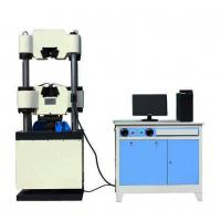 China Vertical Electronic Hydraulic Universal Tensile Compressive Strength Testing Machines wholesale