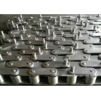 Precision Toleranced Roller Conveyor Chain Stainless Steel Alkali Resistant