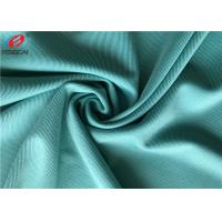 China Weft Knit 90 Percent Polyester 10 Percent Spandex 4 - Way Lycra Single Jersey Fabric wholesale