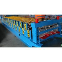 China 3kw Colored Steel Corrugated Forming Machine With  5 Ton Loading Capacity on sale