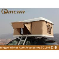 China Hard shell fiberglass car roof top tent / Auto Top Tent Hard Shell Car Roof Top Tent wholesale