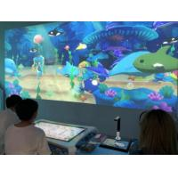China Modern High Technology Interactive Projector Games For Indoor Playground wholesale