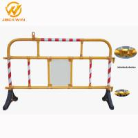 China Safety Plastic Traffic Barriers , PVC Portable Road Barriers Control Size 1500*1000mm wholesale