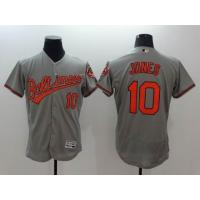 Quality MLB Baltimore Orioles #10 Adam Jones grey Jersey wholesale source for sale