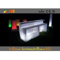 Nail Bar Furniture With Counters Design , Wireless Remote Control