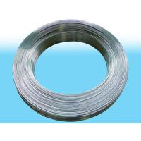 China Round Electriced Galvanized Steel Tube For Cooling System 4.2 X 0.55mm wholesale