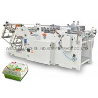 China Corrugated Paper Fast Food Container Making Machine High Output wholesale