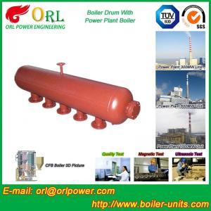 Buy cheap Water Heat Boiler Mud Drum Anti Wind Single Type , Mud Drum In Boiler from wholesalers