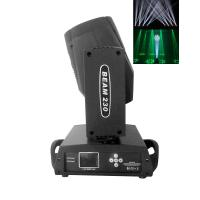 China Black 230w 16 Channels Moving Head Beam Light With Color Touch Screen on sale