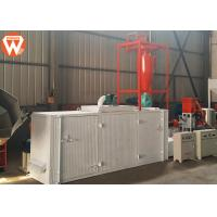 China 150-200 Kg/H Floating Animal Feed Drying Machine Steam Heated Multi - Layer Belt wholesale