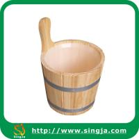 Buy cheap Custom 6L bathroom bucket for sauna room from wholesalers
