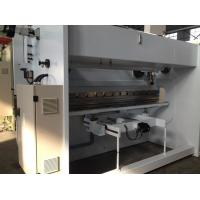 China 3000mm Multi Axis CNC Hydraulic Press Brake Machine 100t For Steel Tower Container Tanks on sale