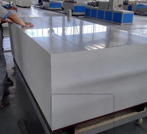 China Automatic Celuka Foam Board Dual Screw Extruder Machine For Furniture Board on sale