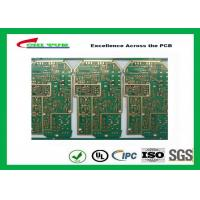 China PCB Design And Fabrication PCB Engineering 6 Layer Hard Gold Surface Treatment wholesale