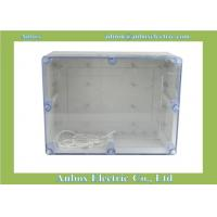 China Large Plastic Ip66 320*240*140mm Clear Lid Enclosures wholesale