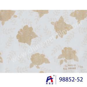 China PVC  Coating  Film    PVC Decorative Film  98852-52  Chinese flowering crabapple 0.12-0.14mm wholesale