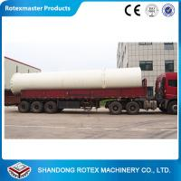 China Wood chips , Wood shavings Rotary Drum Dryer with 12 months Warranty wholesale