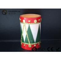 China Tree Shaped Christmas Led Candles With Timer Energy Saving 8*12cm wholesale