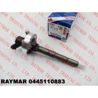 Buy cheap BOSCH Common rail fuel injector 0445110168, 0445110284, 0445110883 for NISSAN ZD30 16600-MA70A, 16600-MA70B, 16600-DB002 from wholesalers