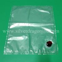 China Clear bag in box with butterfly tap for 10L water packing wholesale